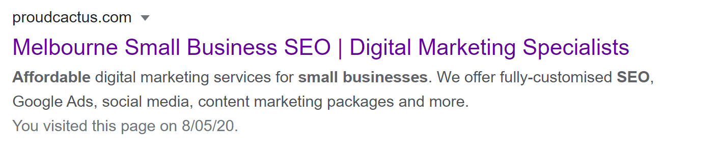 Affordable SEO - Proud Cactus